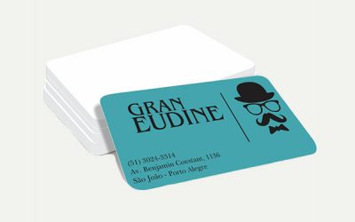Cartão PVC Branco