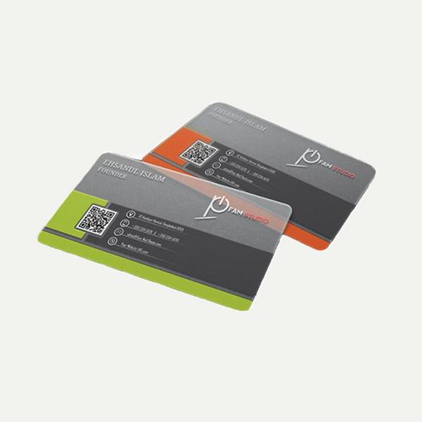 Cartão PVC Transparente